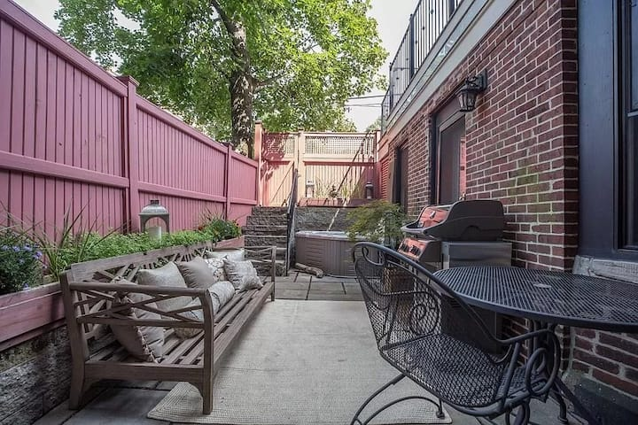 Beautiful South End Condo w Private Outdoor Space