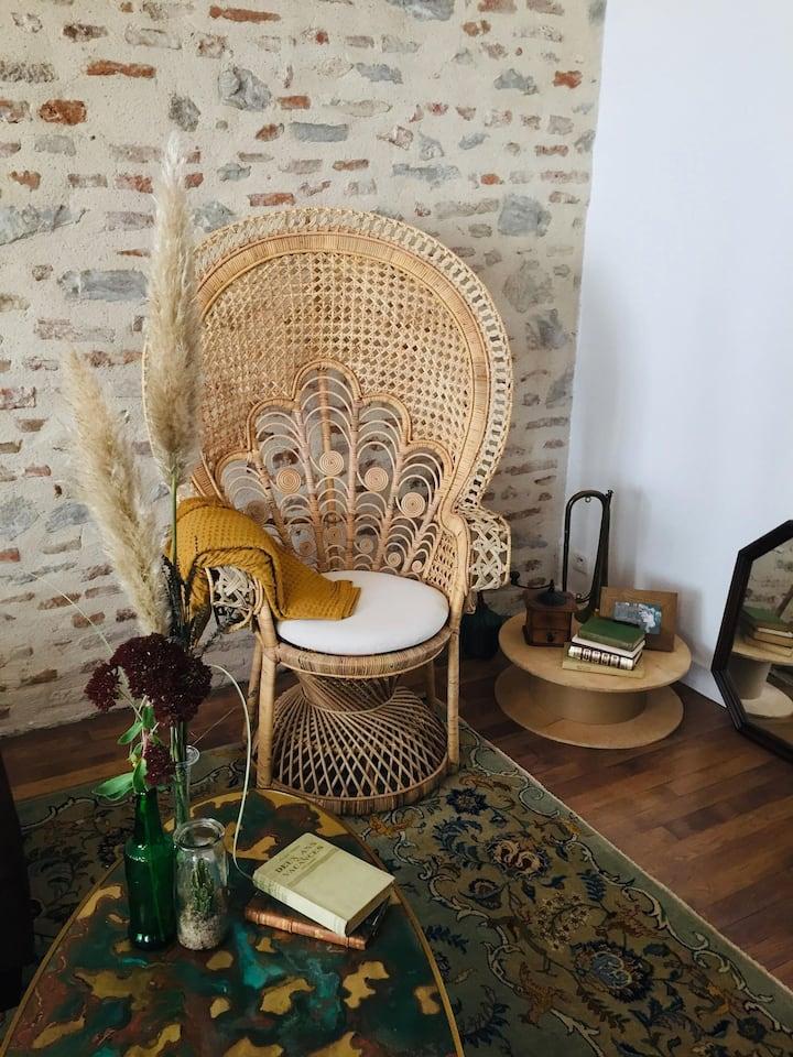 Chambres d'hôtes avec patio à Cahors
