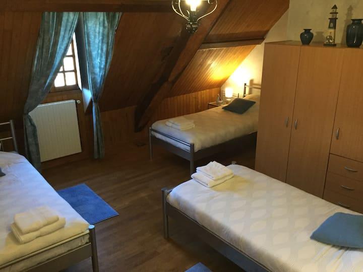 """Chambre d'hôtes """"La Mer"""" + jacuzzi/spa"""