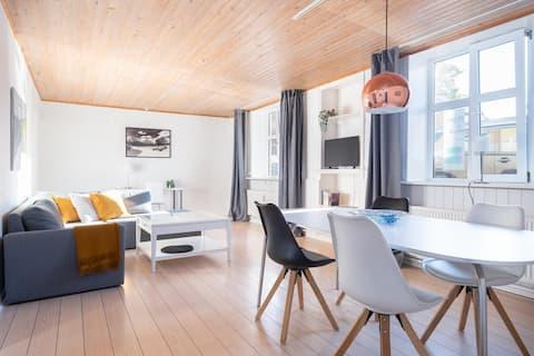 Apartamento com localização central em Frederikshavn