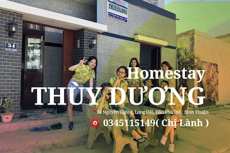 Homestay Thùy Dương đảo Phú Quý