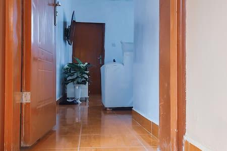 Trinnfri sti til inngangsdøren