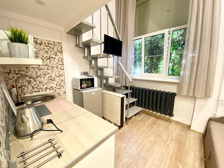 2х уровневые апартаменты Космос 1 на ВДНХ