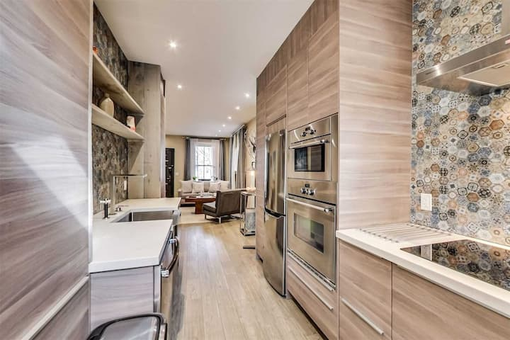 1BR 1BA Modern Rustic Apartment in Olive Ave