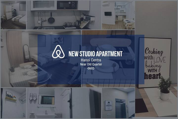 New Studio Apt, Hoan Kiem, near old quarter #0602#