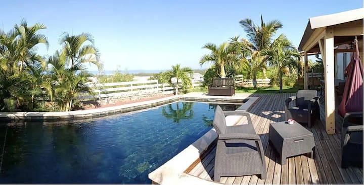 """Villa """"Passion"""" avec piscine au cœur du lagon"""