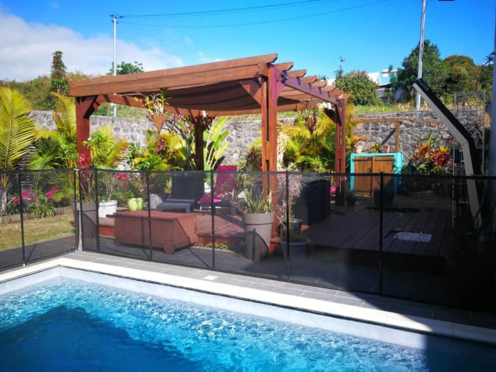 Villa Orchidea avec piscine et jardin