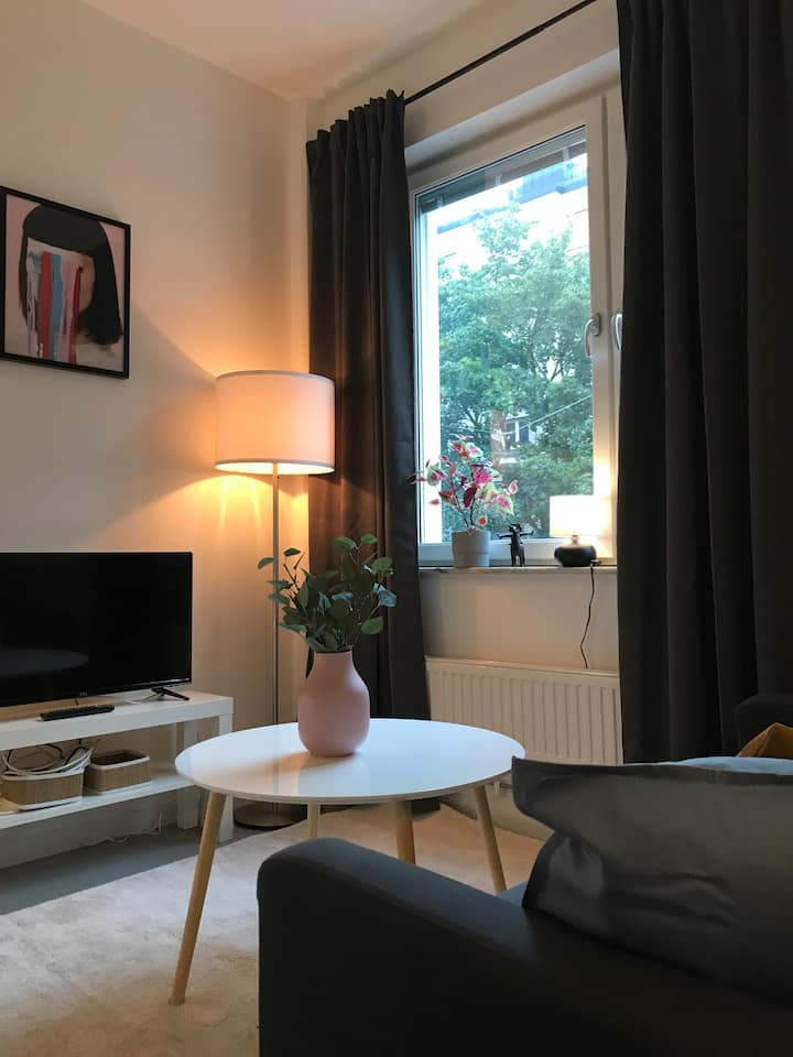A spacious studio in Söder close to everything