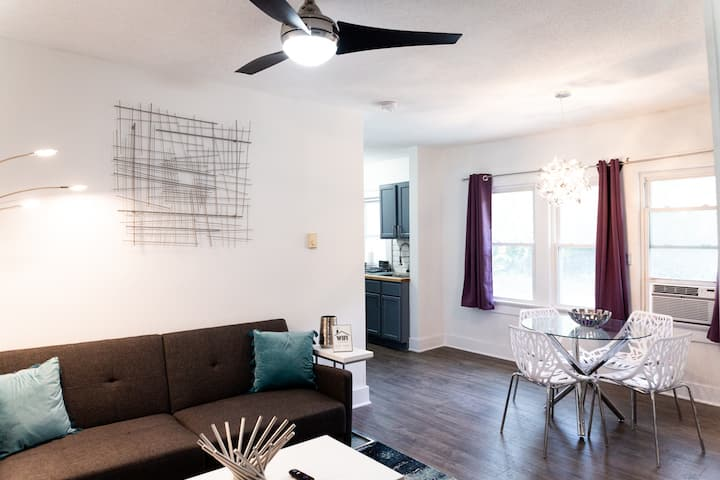 MODERN Cozy 'N Safe 1BR Home | Newly Renovated