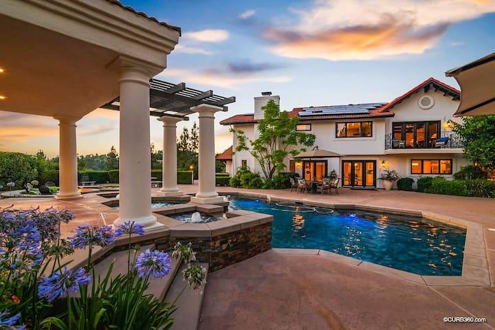 Luxury Hilltop Estate