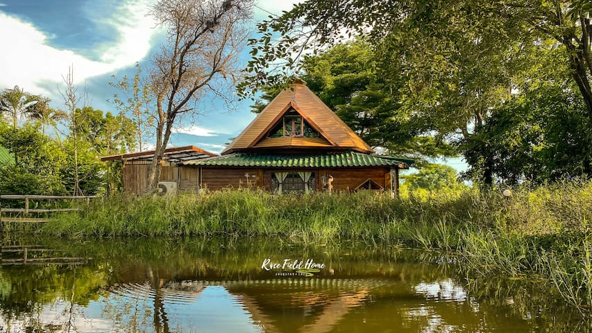 Rice Field Home Farmstay&Cafe (Big Family House)
