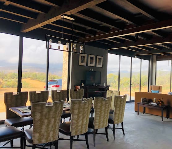 Cabaña Valzam1 entre viñedos -Rancho Tecate Resort