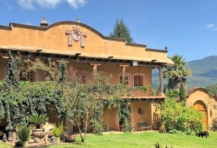 Hacienda la Cruz, hasta 22 huéspedes