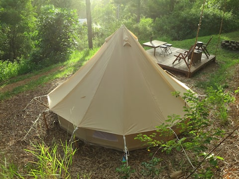 Tent in The Forest ~ Kin Kin Noosa Hinterland