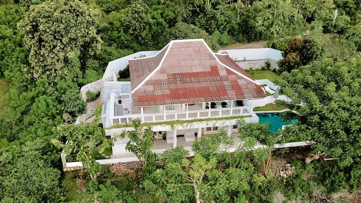 Cliff view villa - 4 bedrooms with pool - Ceningan