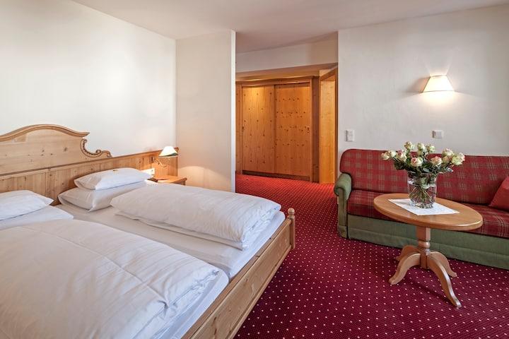 Hotel direkt am Skilift - Zimmer Standard 26 m² EG