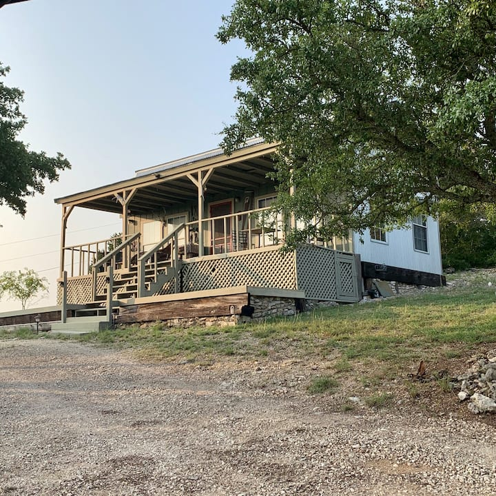 Rustic Hunters Cabin on Texas Goat Ranch