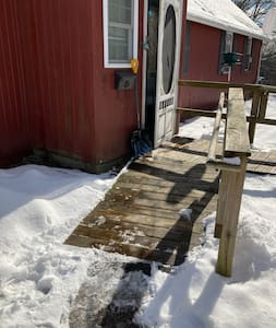 Ramp to cottage