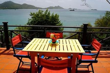 Waterfront Charming Carriacou Cottage