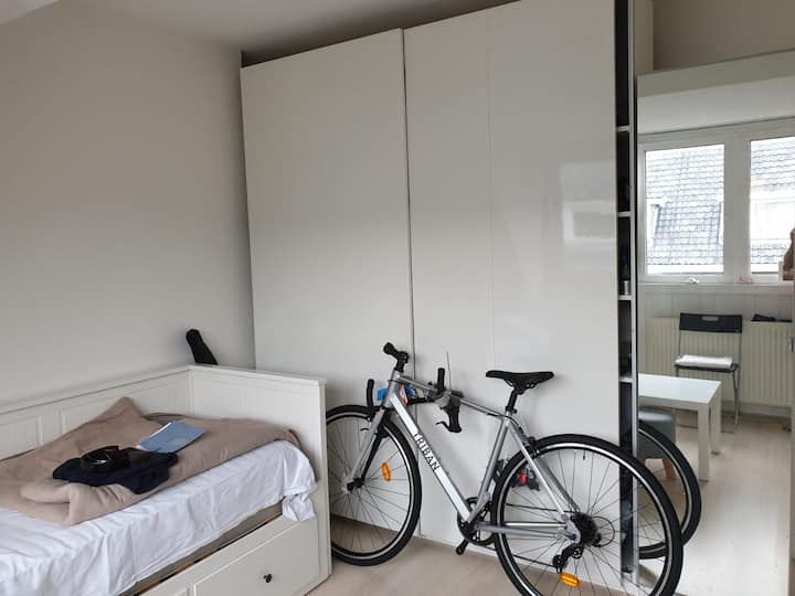 Furnished Room in Spacious Apartment
