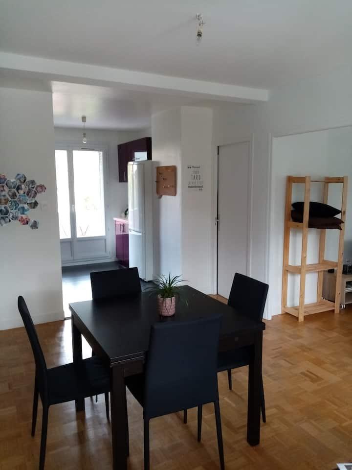 Appartement spacieux et confortable