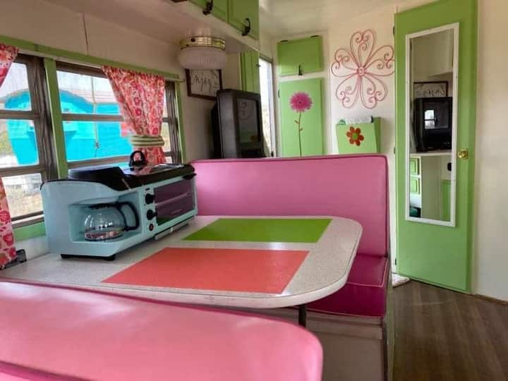 Priscilla of Taos, a fun whimsical retro pad