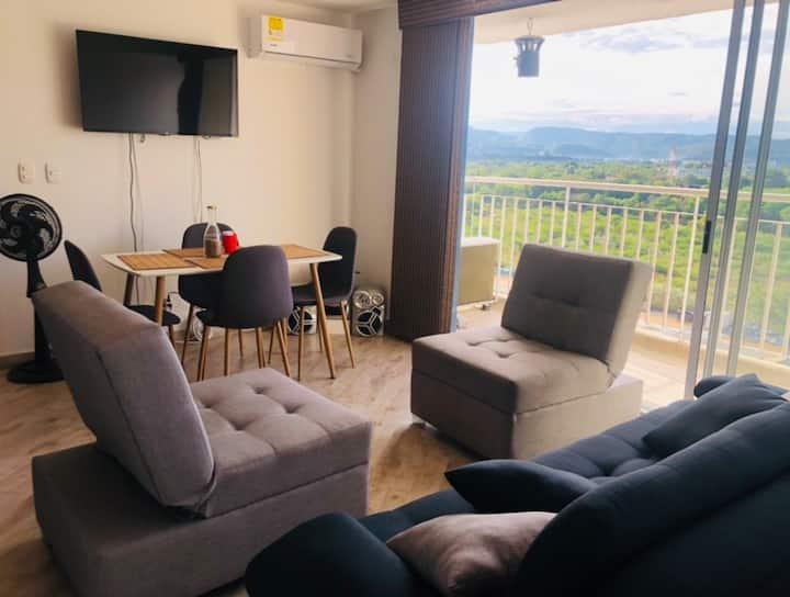 Apartamento exclusivo dentro de condominio privado