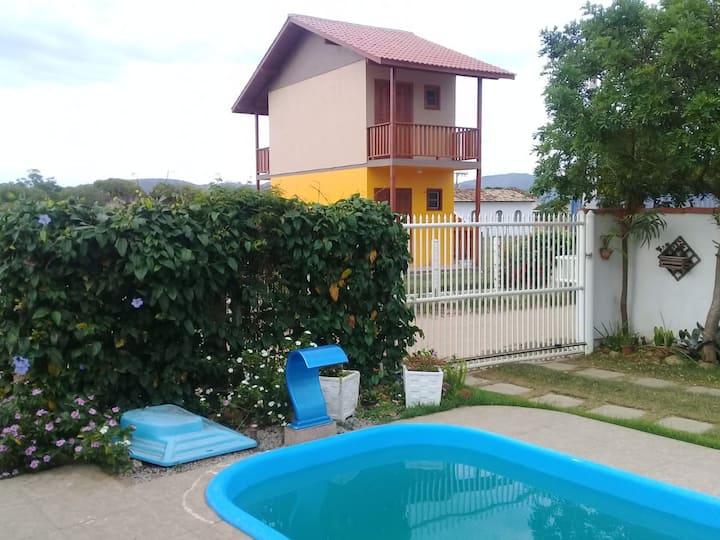 Hospedagem da Lagoa 2  - Com piscina