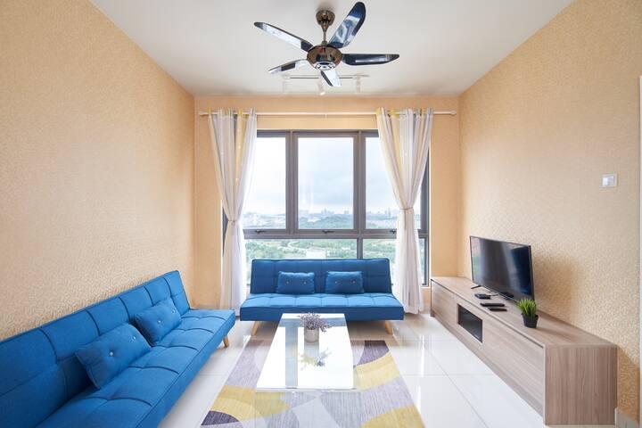 5-8 pax 3BR, Cozy Home@Sfera