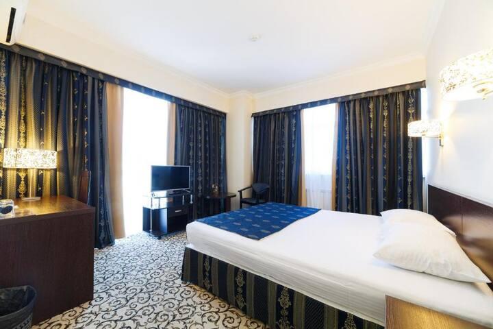 Отель Алтай - 2х местный Делюкс с видом на горы