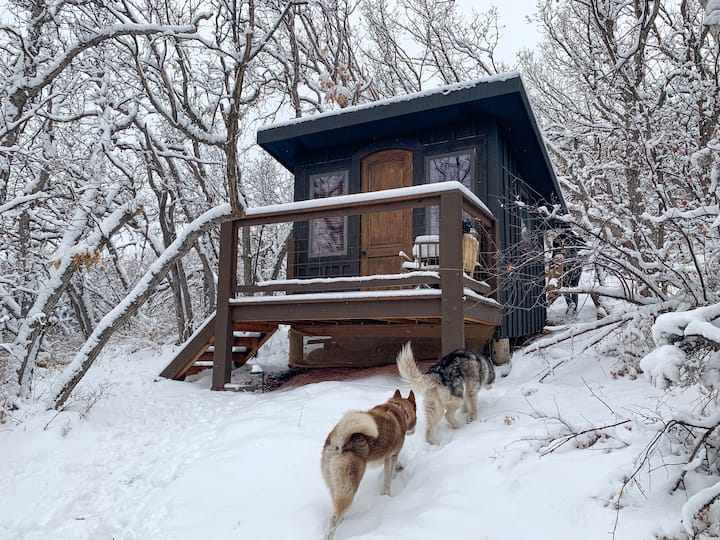 Two Cabins - A Winter Escape