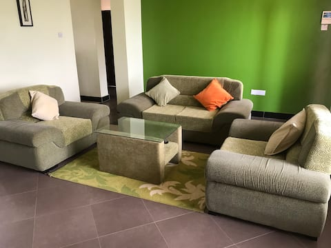 In-Africa Apartment (green)
