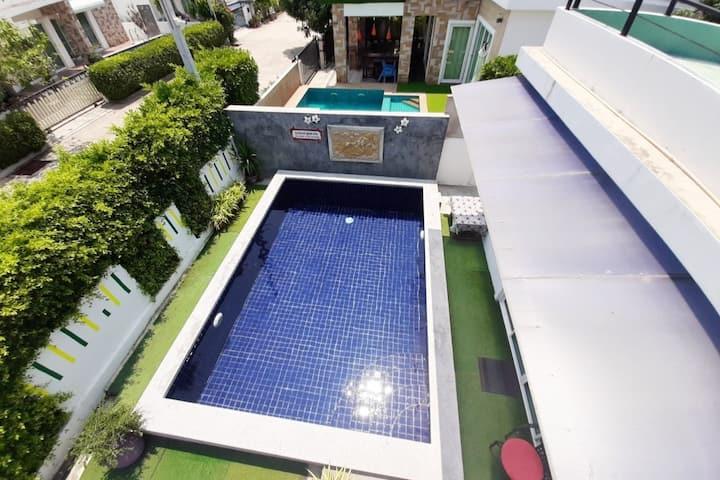 Jecelyn Pool Villa Huahin ( 2 BR 1 Lounge)