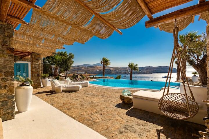 Villa Karkos | Private Pool | Stunning sea view