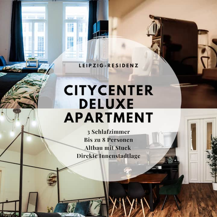 City-Center Deluxe Apartment, 135 qm, 4 Zimmer