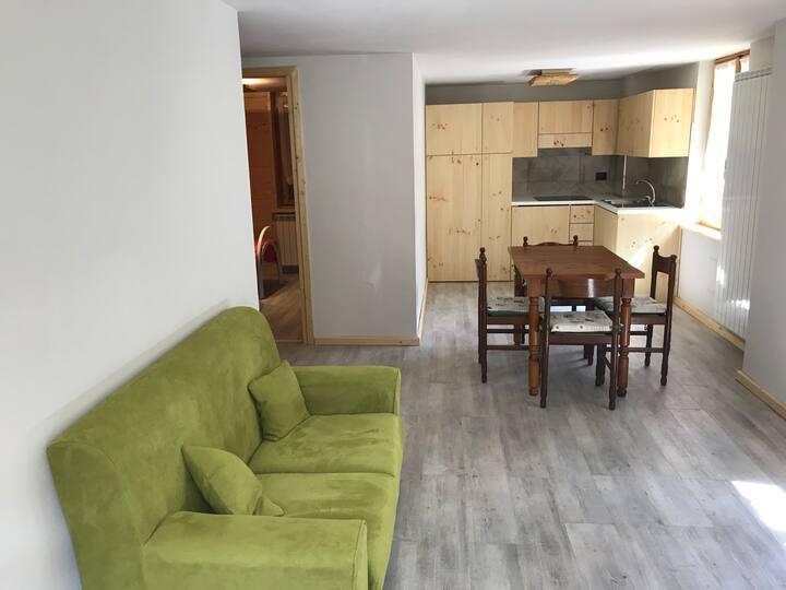 Nuovissimo appartamento con giardino in val Maira