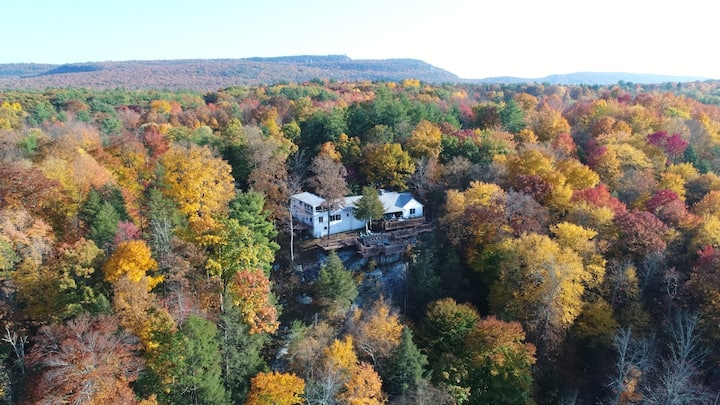 Breathtaking Views of the Catskills and Sunsets