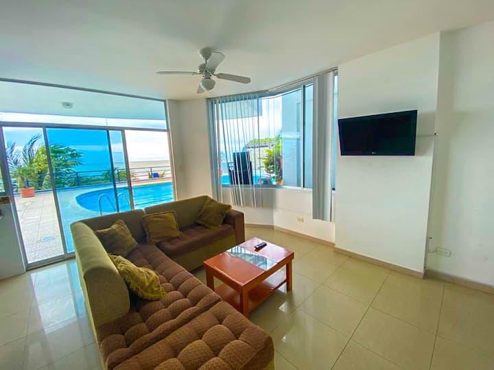 Apartamentos vista al mar - Nueva Granada Atacames