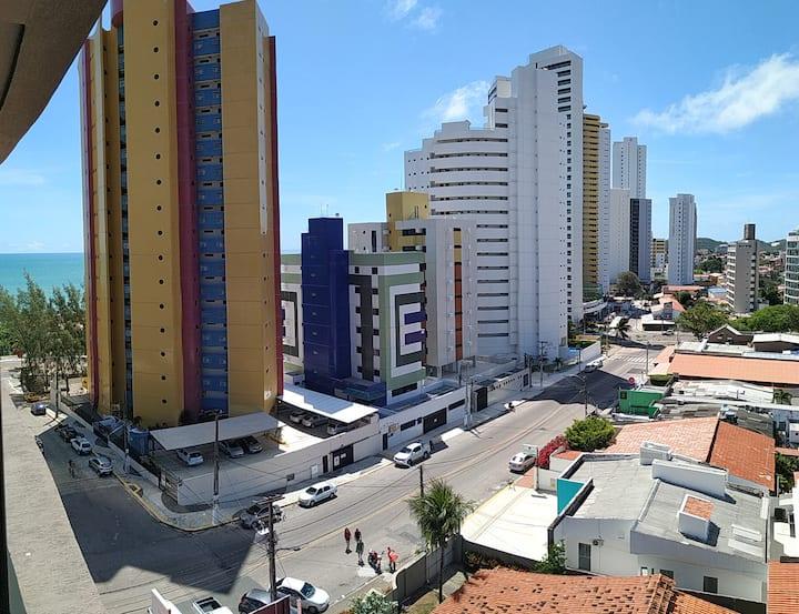 Cacau Flat Premium em Ponta Negra Vista Para o Mar