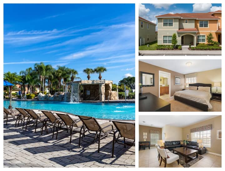 5 Bedroom/4 Bathrooms Paradise Palms (8869 CP)