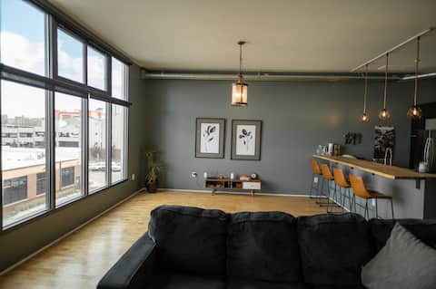 Bright loft in the heart of Denver