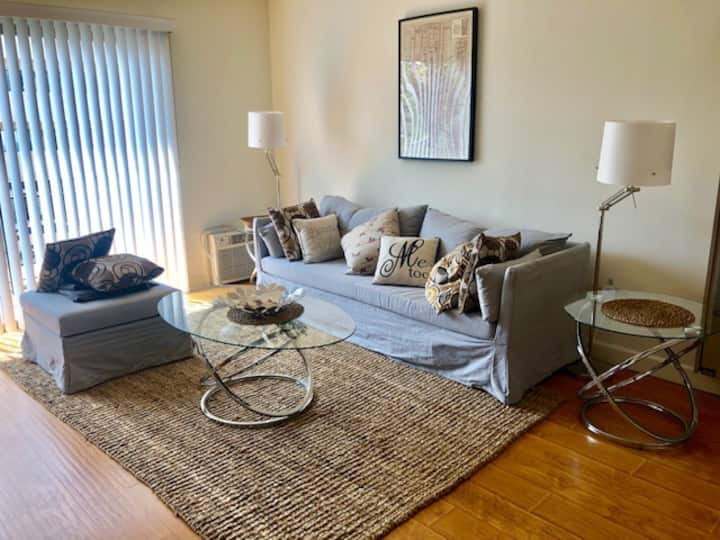 Bright West Hollywood one Bedroom Apartment.