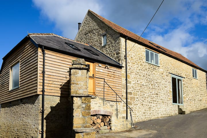 The Grange, newly converted barn in  Dorset