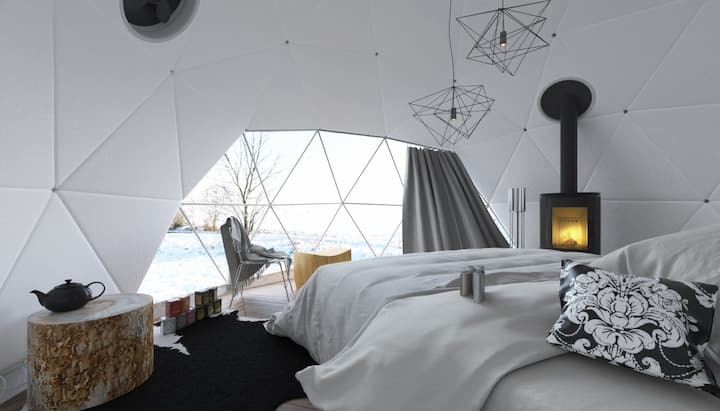 Rooftop Winter Glamping Obergoms - 🇨🇭
