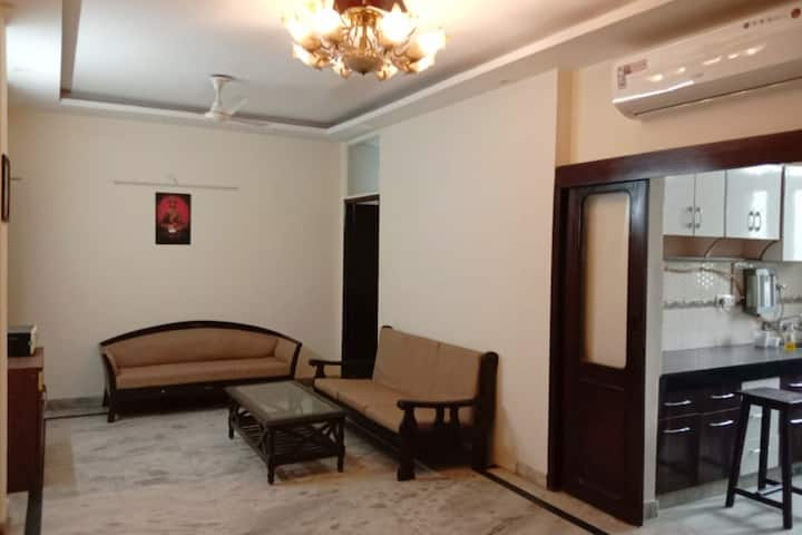 2bhk apartment for long term stay