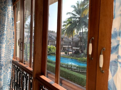 R2 - Contemporary, chic, pool-side villa, SouthGoa
