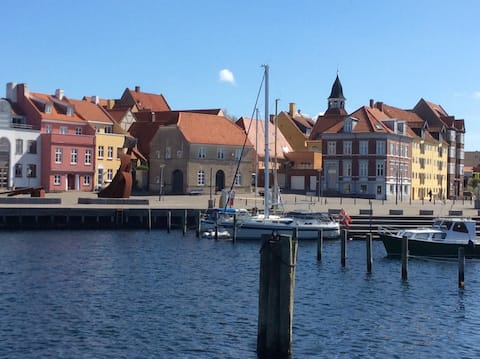 Here you are a stone's throw from the South Funen archipelago.