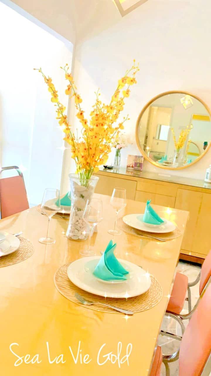 Sea La Vie Goldy Laguna Resort 5-6 pax Studio 🏡