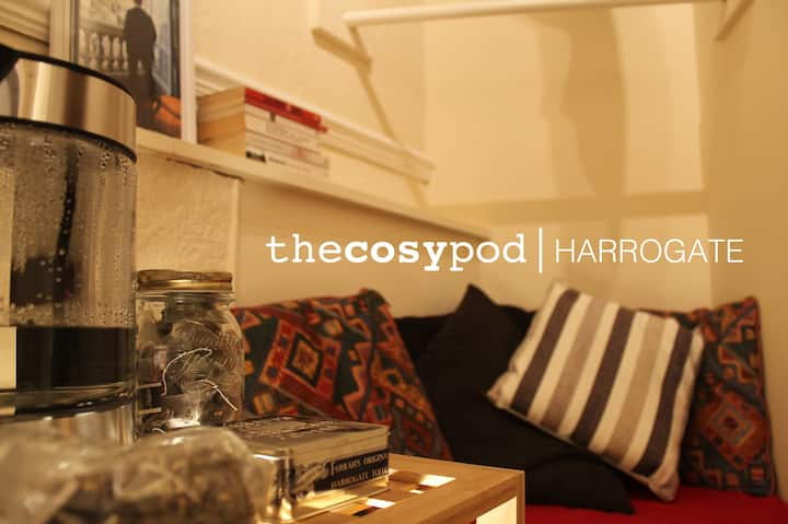The Cosy Pod, Central Harrogate: Private Apartment