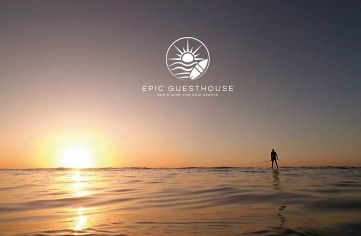 Gold Coast Double Room at Epic Surf n Sup House